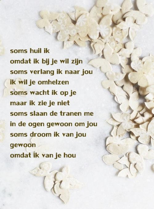 #gedicht over #missen