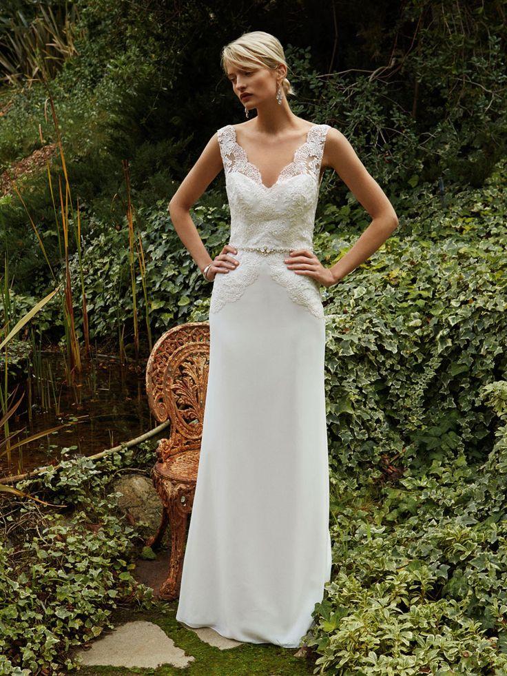 Beautiful 2016, BT16-26 front view - Enzoani 2016 Wedding Dresses | itakeyou.co.uk