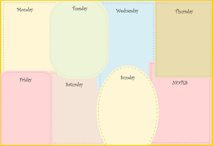 FREE printable week planners in lovely design