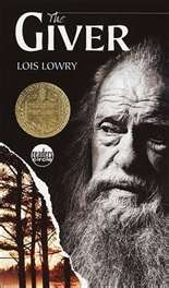 """The Giver,"" this is proof that you can't judge a book by it's cover. I wouldn't ever read it because I thought it looked boring; then I read it for a class and I loved it! It's not the kind of book I usually read, but it's still great!"