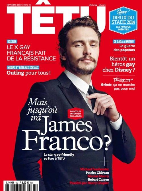 L'acteur américain James Franco continue de défendre les droits de la cause homosexuelle.
