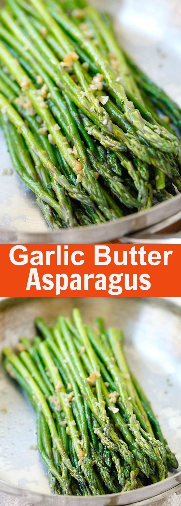 Garlic Butter Sauteed Asparagus – the easiest & healthiest asparagus recipe ever, takes only 10 mins to prep. Quick, fresh, and delicious