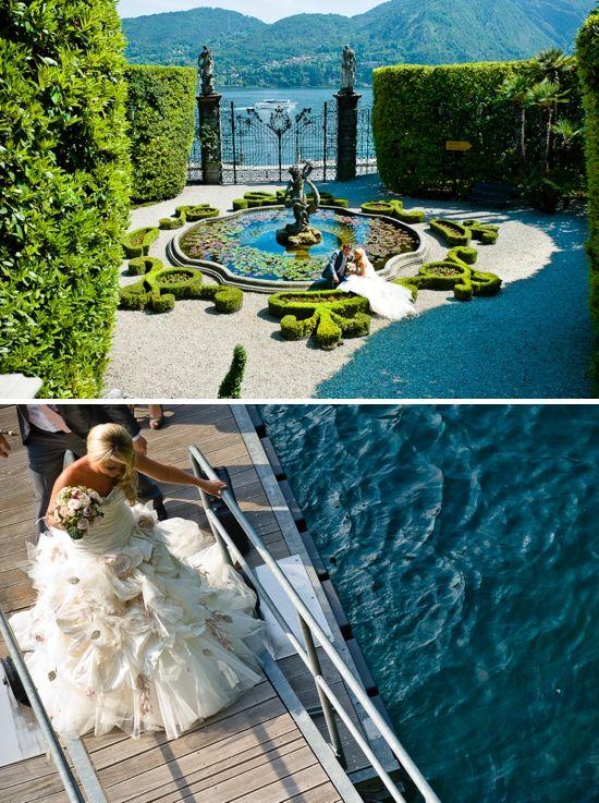 Breathtaking Lake Como ✈ Unique Italian Destination Wedding - Villa Carlotta