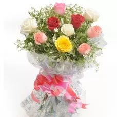 Love Beauty, Mixed Roses, roses Bouquets