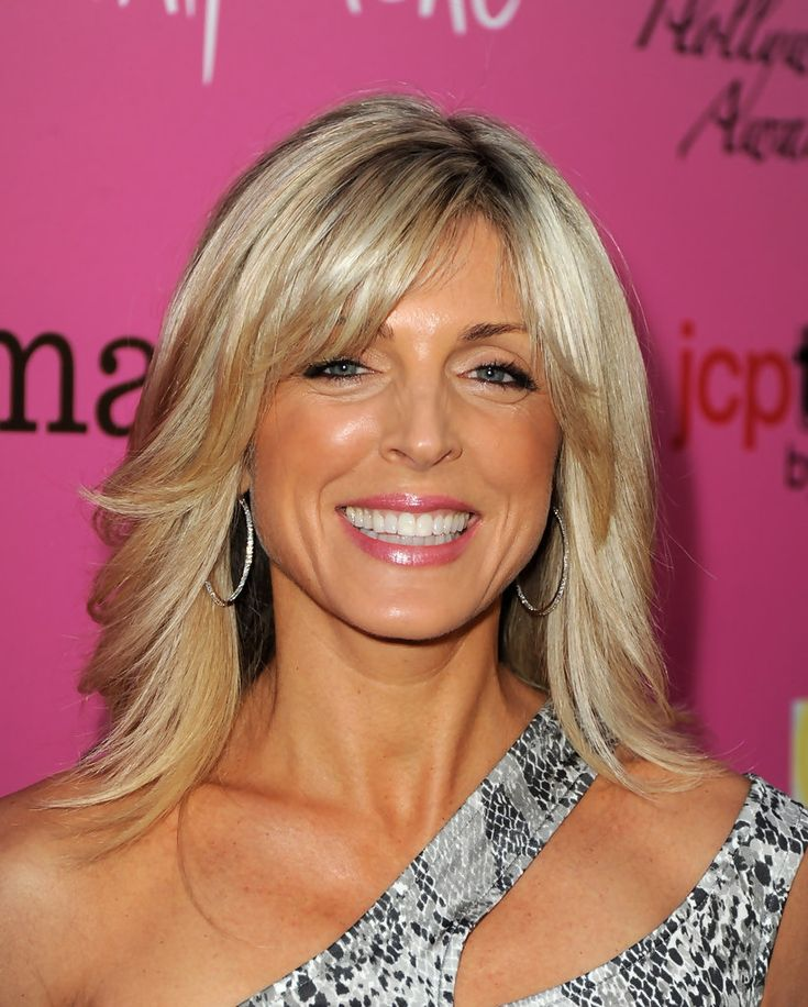 Marla Maples-like the bangs and cut