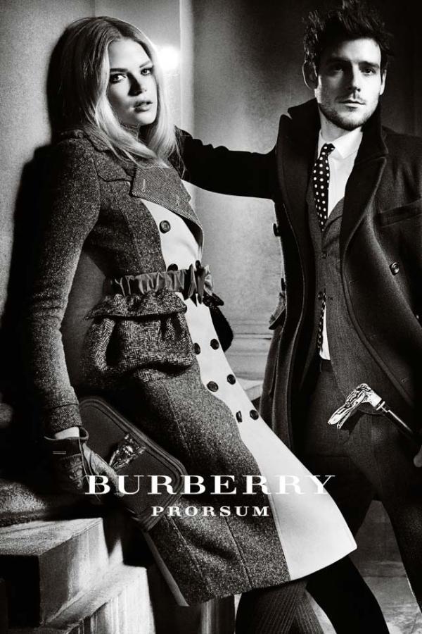 a/w 2012 burberry campaign