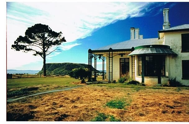 Highfield House, Stanley, Tasmania. An early colonial residence in a stunning location. Well worth a look.