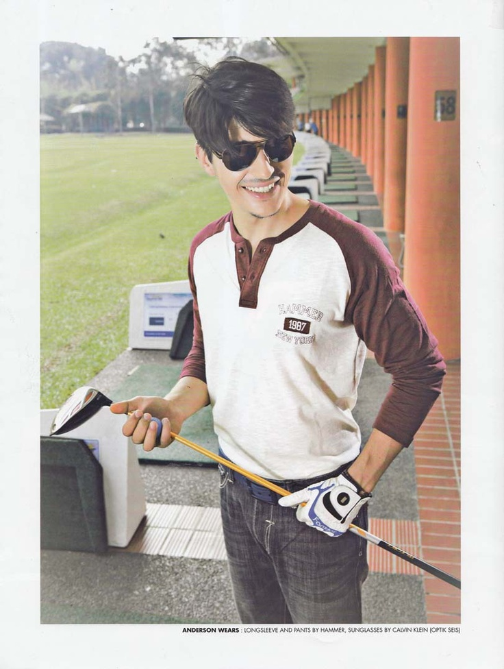 #CalvinKlein #sunglasses | source: #Golf Magazine