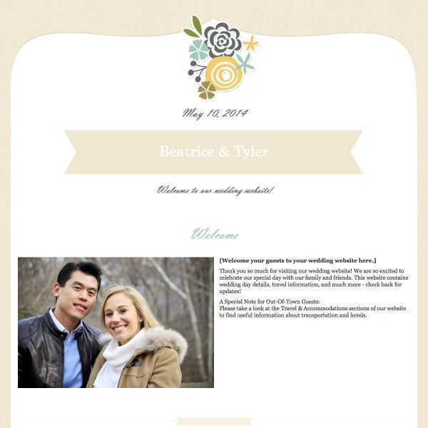 25 best images about Wedding Website Designs on Pinterest