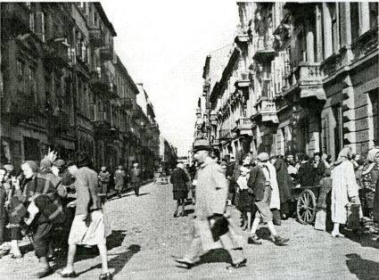 Ulica Miła przed wojną