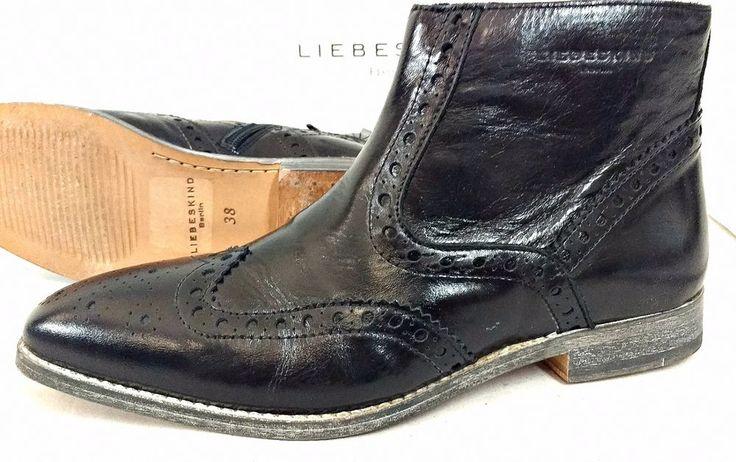 Liebeskind Berlin Ankleboots 38 Designer Damen Stiefel Stiefeletten Schuhe Punk in Kleidung & Accessoires, Damenschuhe, Stiefel & Stiefeletten | eBay!
