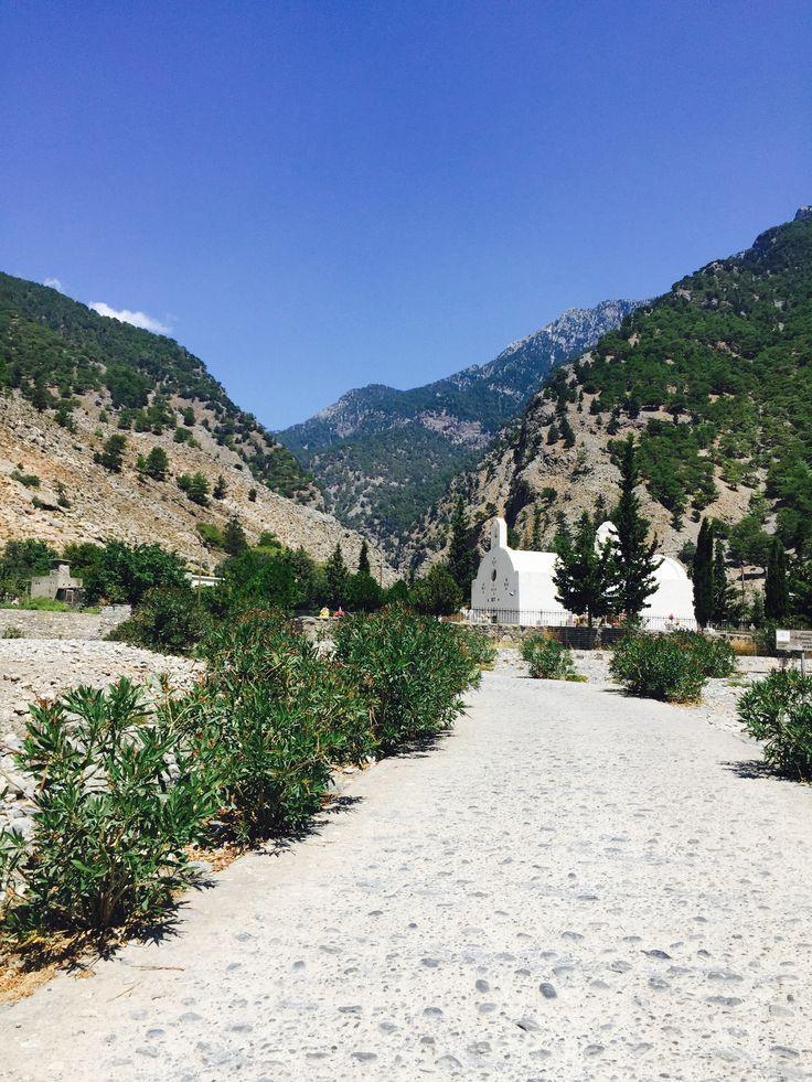 Samaria Gorge på Kreta kan virkelig anbefalest😍