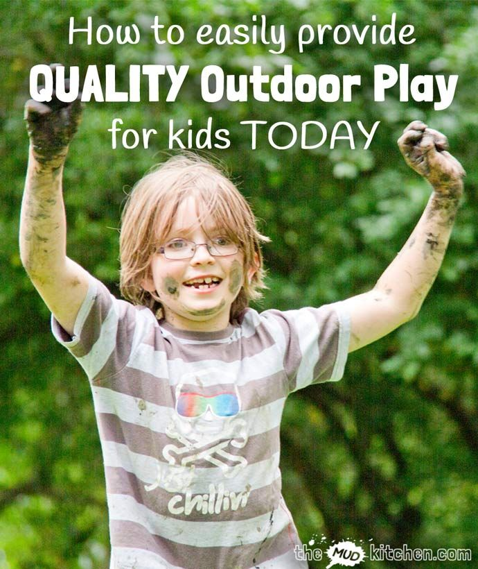 We all know that kids benefit from fresh air and the freedom that outdoor play gives them but how do we use outdoor play to develop more than just their physical skills? Here are 5 easy ideas you can implement today to provide QUALITY outdoor activities for kids to promote all areas of development and learning.