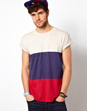 Primark Stripe T Shirt Men T Shirt Clothes