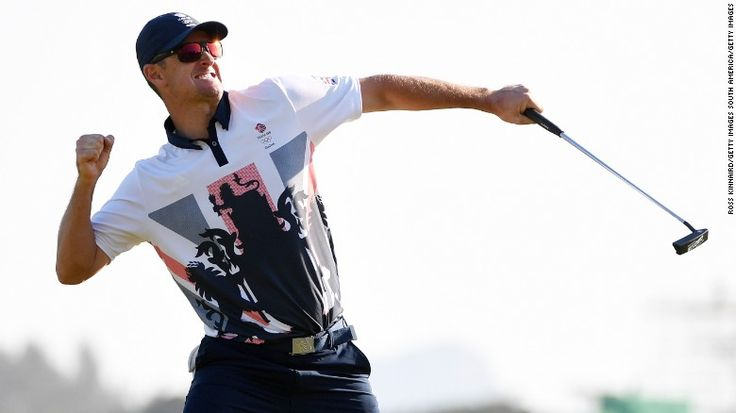 Justin Rose held his nerve to capture the first Olympic golf gold since 1904.
