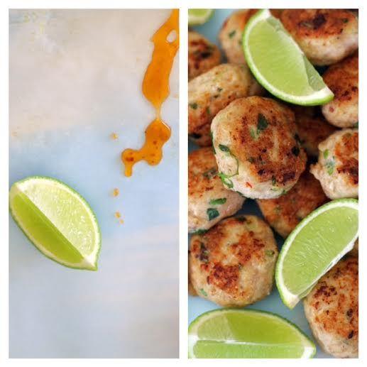 Gluten Free Thai Chicken Patties super healthy and tasty too ~www.theluminouskitchen.com