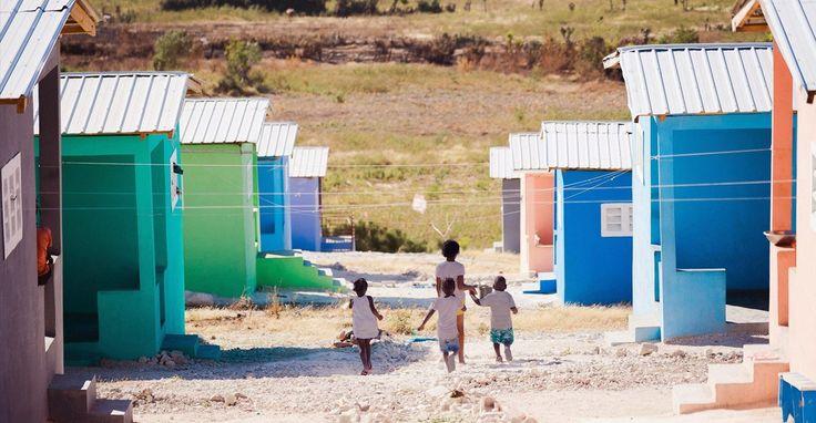 En menos de tres años han construido más de 500 casas.