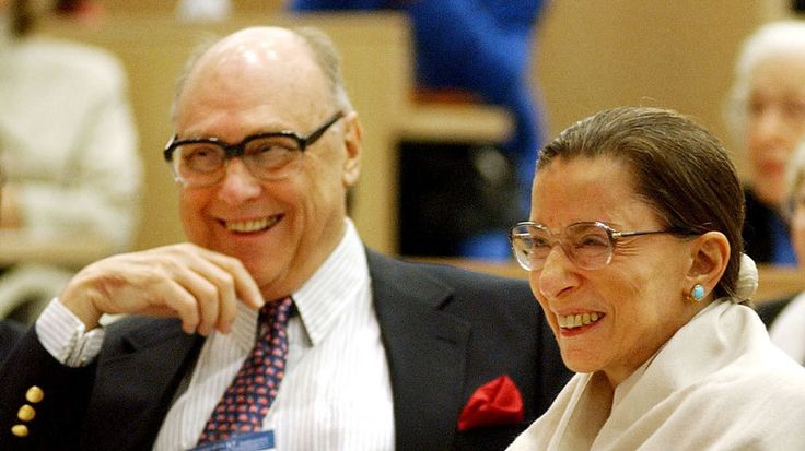 """Supreme Court Justice Ruth Bader Ginsburg announced an opinion from the bench just 24 hours after the death of her husband because, she said, """"Marty would have wanted it this way."""" Her marriage to Martin Ginsburg, who died June 27 at 78, was a 56-year marathon of love and support."""