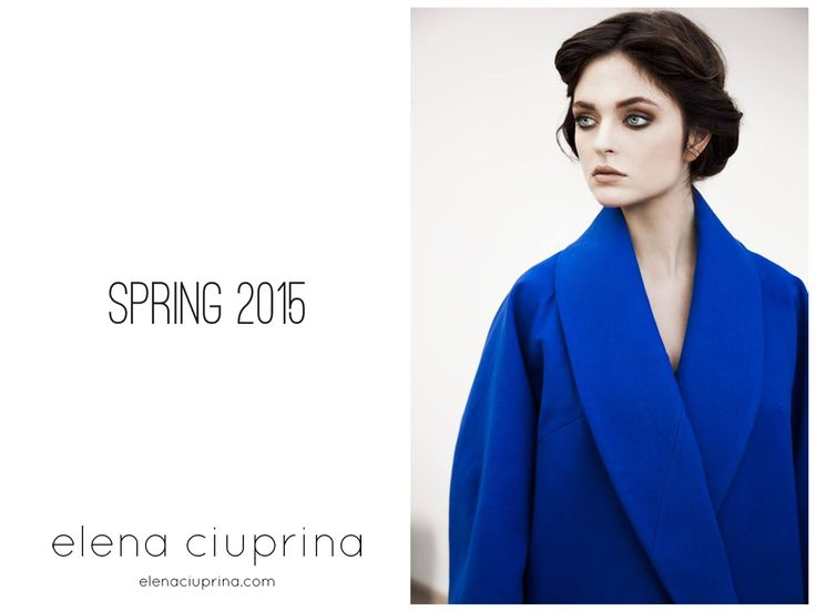 Spring 2015 Lookbook - Elena Ciuprina http://elenaciuprina.com/  Photo: Anna Ciupryk Model: Justyna Bednarska/ Fashion Color