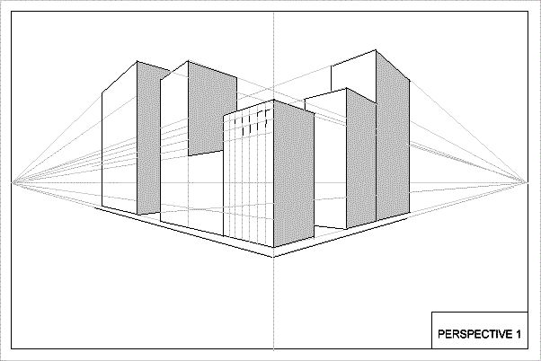 This Is Another 2 Point Perspective Drawing Of Some