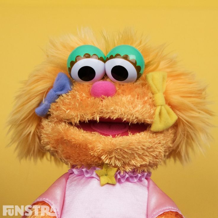 Zoe and more Sesame Street toys at Funstra