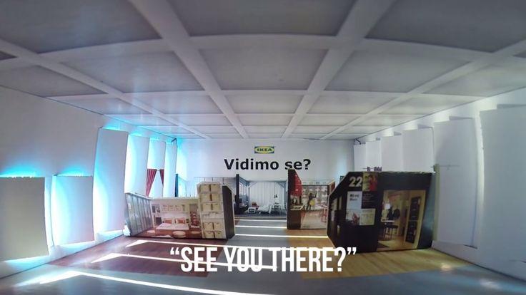 中を覗くとミニチュアショールームが見える、IKEAのセンス溢れるメディア招待状