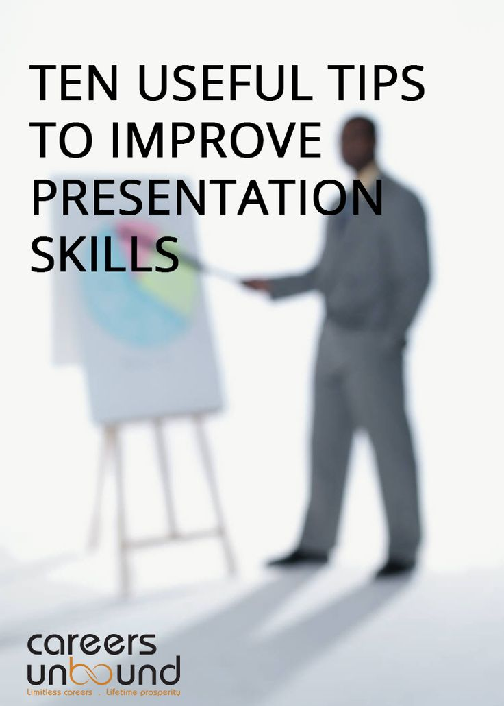 How to improve your presentation skills ? ? ? Job Search Info - resume presentation skills
