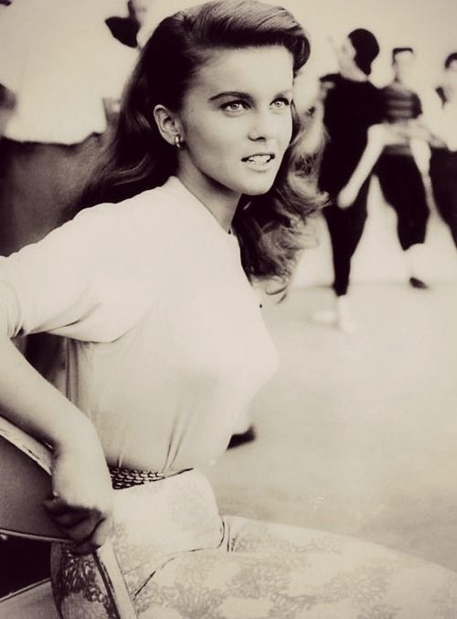 Ann-Margret right after we'd walk to class at Northwestern our Freshman year.