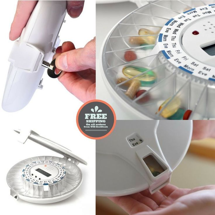 A must for caregivers and elderly people. Last pieces of Lockable Automatic Pill Dispenser, Get yours now! No Local Pickup. | eBay!
