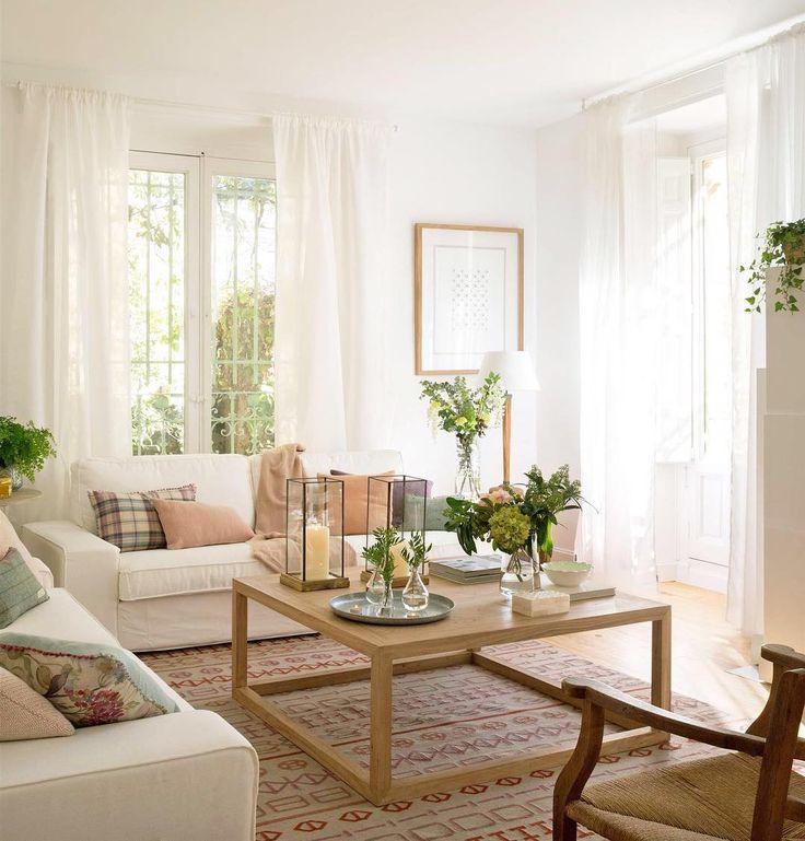 ☀️llLuz = vitamina D Plantas = aire más puro... Estos son solo algunos de los tips con los que conseguirás una casa muuucho más sana. Cuida su salud, ¡y ella cuidará de ti! #elmueble #casasana #eco #greendeco #decoracion #decoration