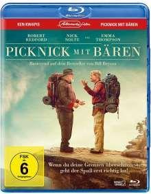 Picknick mit Bären (Blu-ray), Blu-ray Disc