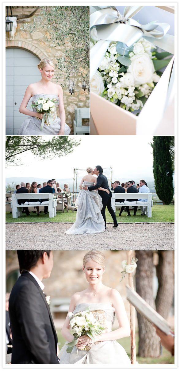 elegant Tuscany wedding   http://www.100layercake.com/blog/2012/01/18/elegant-bucolic-tuscany-wedding-olga-sende/