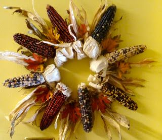 Make it easy crafts: Quick one-hour Indian corn wreath
