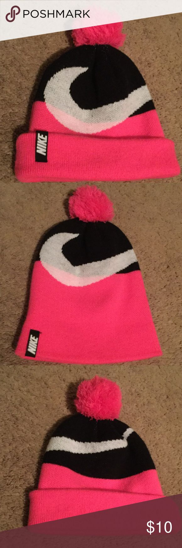 Nike girls winter hat Nike girls winter hat. Brand-new and never worn. Nike Accessories Hats