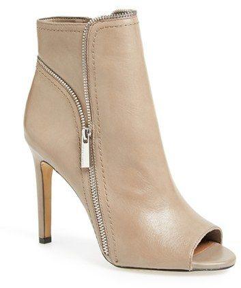 Vince Camuto 'Klayton' Peep Toe Bootie (Women) on shopstyle.com
