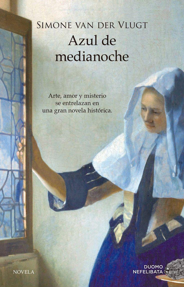 """Simone van der Vlugt. Azul de medianoche"""". Editorial Duomo Nefelibata. Holanda, 1654. Es el siglo de oro neerlandés, cuando el arte de Vermeer y Rembrandt florece junto a los tulipanes que salpican de color la campiña holandesa. Allí, en una granja, Catrijn, nacida y criada en la pobreza, vive infelizmente casada; sin embargo, son tiempos de cambio, también para las mujeres. Tras enviudar, Catrijn sabe que ha llegado el momento de afrontar por sí misma el mundo que la rodea."""