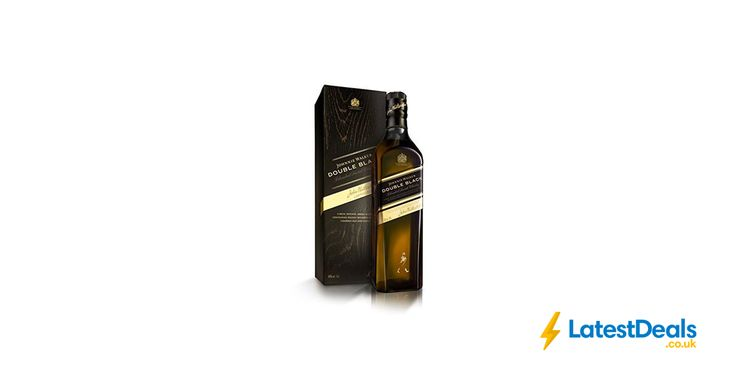 Johnnie Walker Double Black Label Blended Scotch Whisky, 70cl, £26.99 at Amazon