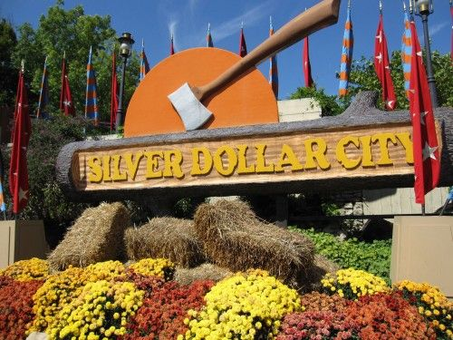 Silver Dollar City in Branson Missouri.  Looks like the country form of Disneyland to me!