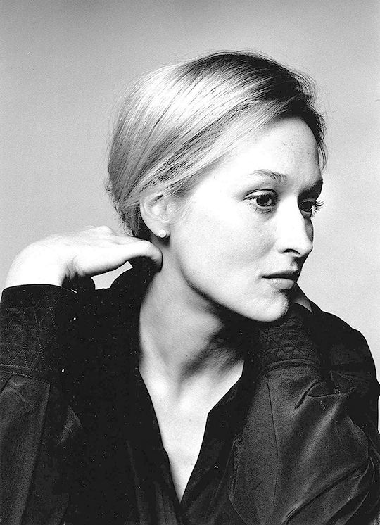 coconutmilk83:  Meryl Streep photographed by Brigitte Lacombe, 1978 (✗)