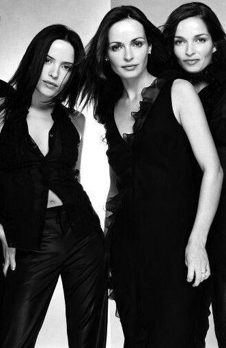 Andrea, Sharon and Caroline Corr : lovely Irish ladies!