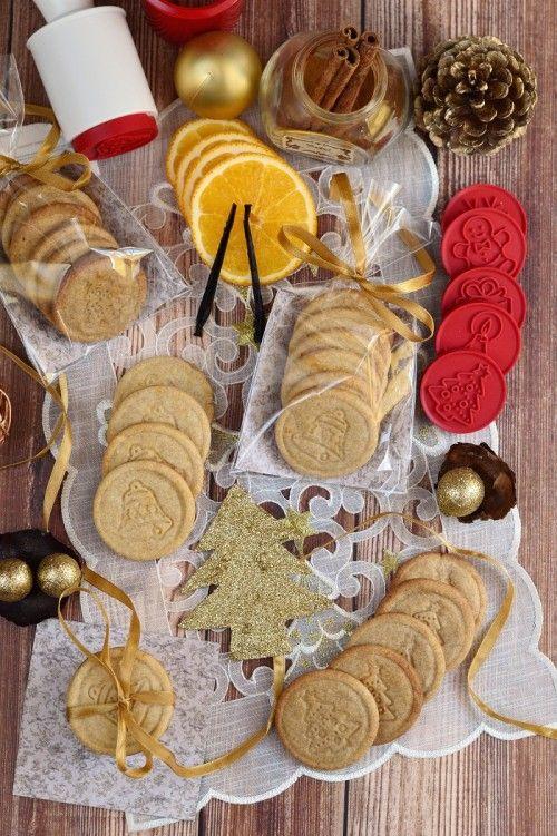 Gyömbéres-narancsos és fahéjas-kardamomos keksz