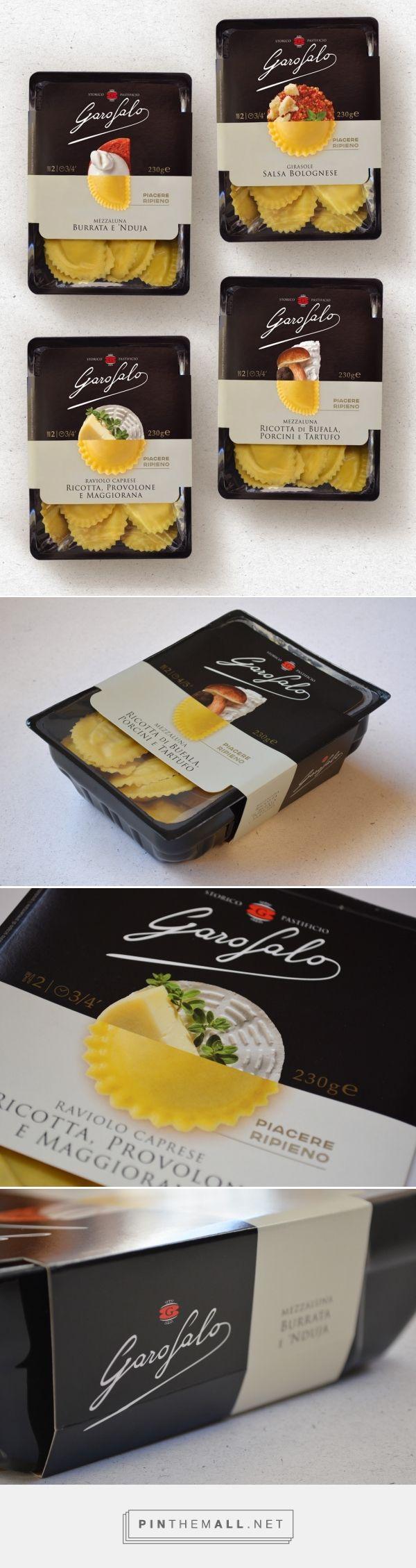 Garofalo Pasta Ripiena packaging design by Rossoamaranto - http://www.packagingoftheworld.com/2017/02/garofalo-pasta-ripiena.html