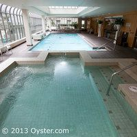 The Jacuzzi at the Fairmont Olympic Hotel