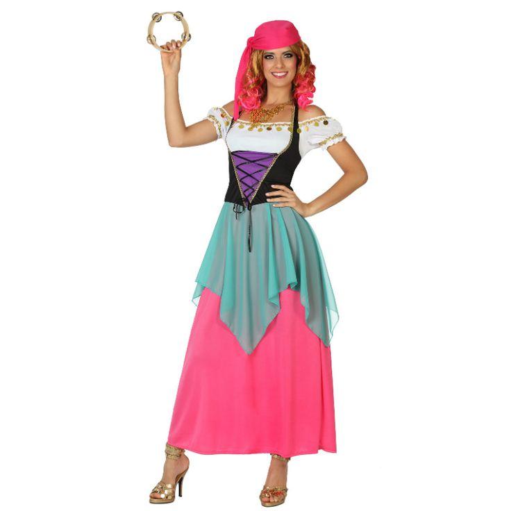 Déguisement Gitane #déguisementsadultes #costumespouradultes #nouveauté2015