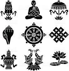 die besten 25 buddhismus symbole ideen auf pinterest buddhismus und tattoos symbole mit. Black Bedroom Furniture Sets. Home Design Ideas