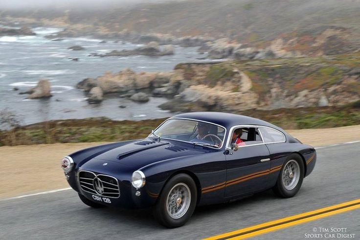 Image result for Zagato Maserati A6G 2000 #2106 1955