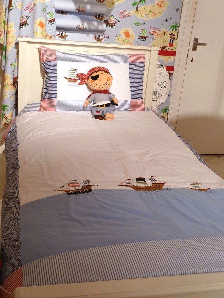 Pirate theme bedding for boys at laura ashley summer 2012 for Bedroom curtains and bedding