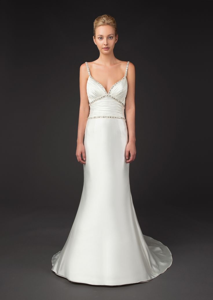 "Sophisticated Winnie Couture Wedding Dresses Fall 2014 Diamond Label Collection. To see more: http://www.modwedding.com/2014/01/20/winnie-couture-wedding-dresses-fall-2014-""diamond-label-collection/ #wedding #weddings #fashion"""