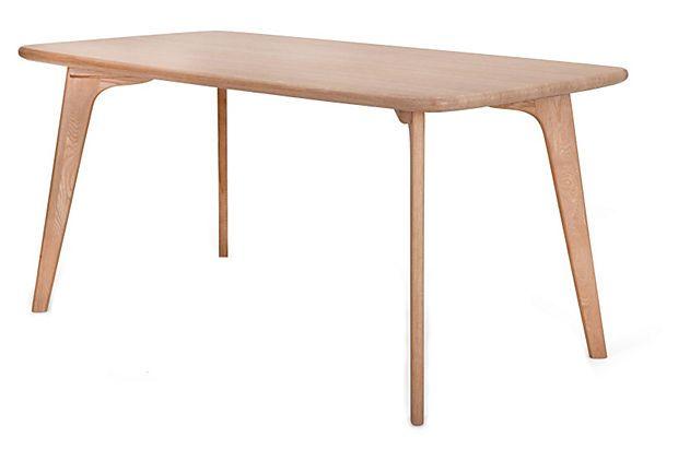 Vista Rectangle Table, Oak on OneKingsLane.com