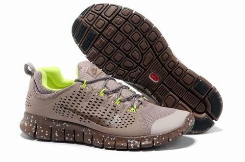 Nike Free Powerlines 2 Mens Running Shoes Fluorescent Green Yello Orange